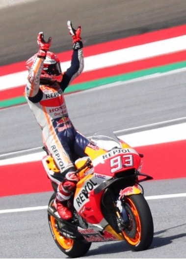 MotoGP: Marc Marquez beats Andrea Dovizioso to pole by 0.002s