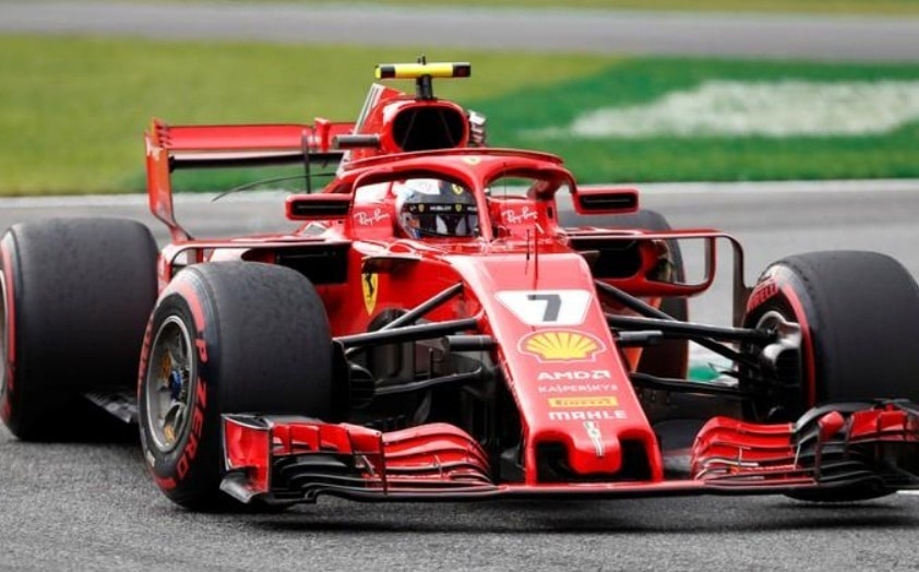 Raikkonen takes pole position at Monza with record lap time