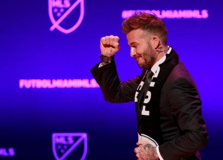 Beckham's team in the U.S. Football League will be called Inter Miami