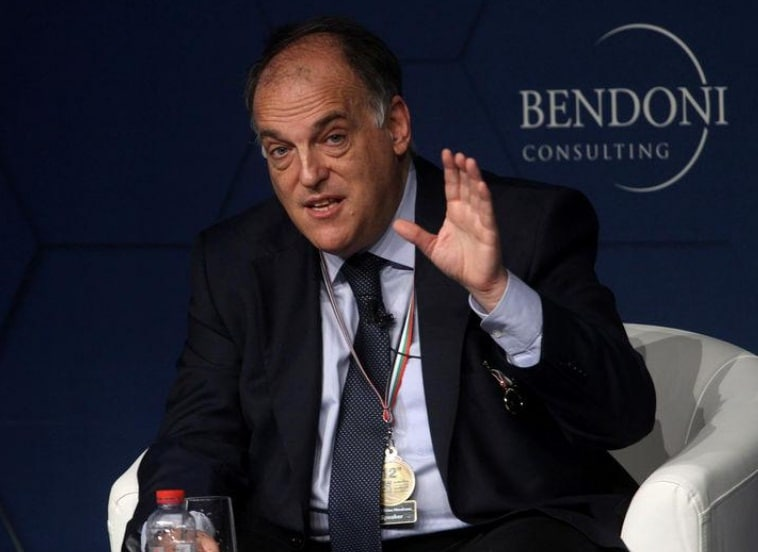 Tebas says he is 90% convinced that the Girona-Barca will be played in the U.S.