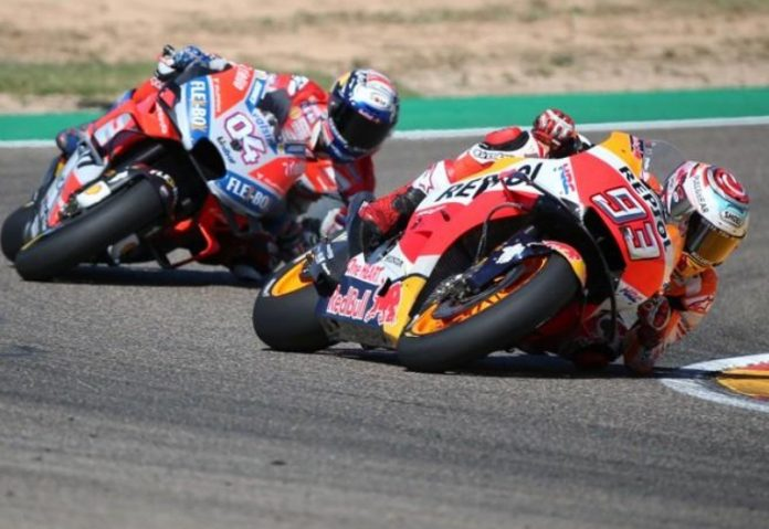 Marquez distances himself with Dovizioso by winning the Aragon Grand Prix