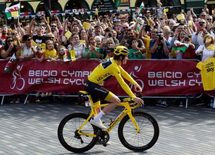 Tour de France trophy stolen from exhibition in England