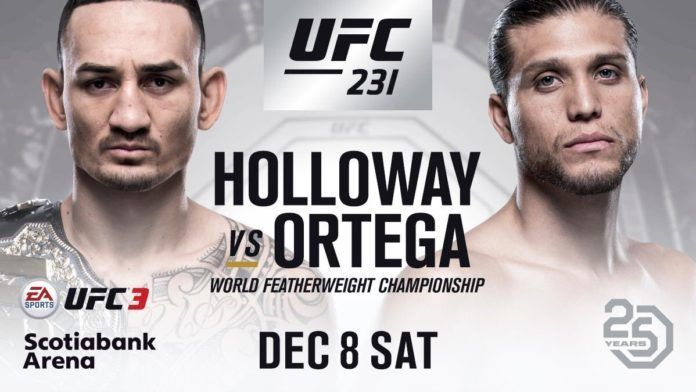 UFC 231 Sets Attendance Record With Max Holloway's Career Performance