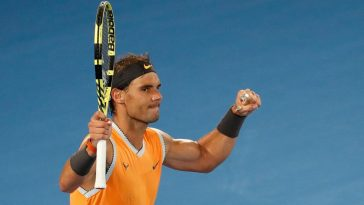 Nadal and Bautista advance to quarterfinals at Australian Open, Federer eliminated