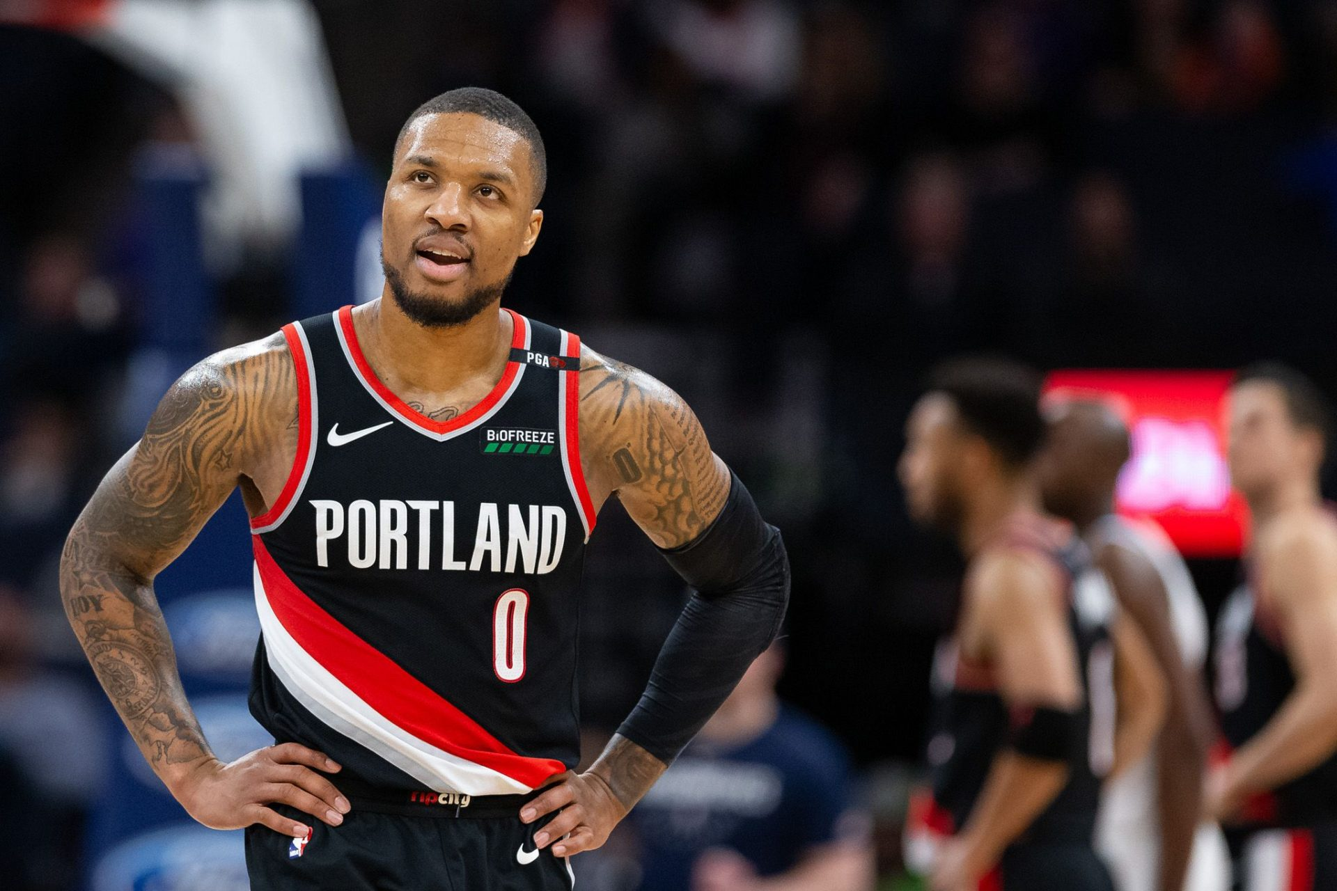 Damian Lillard slams Shannon Sharpe over contract criticism