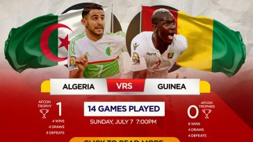 Is Algeria vs Guinea Live Stream available on TV and Is there any cost to watch live online?