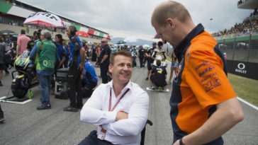 Pit Beirer praised the commitment of their test driver Dani Pedrosa