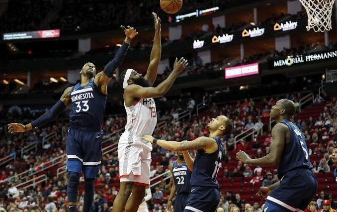 Houston Rockets won 139-109 against Minnesota Timberwolves