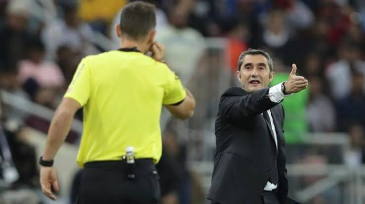 Ernesto Valverde officially fired from Barcelona