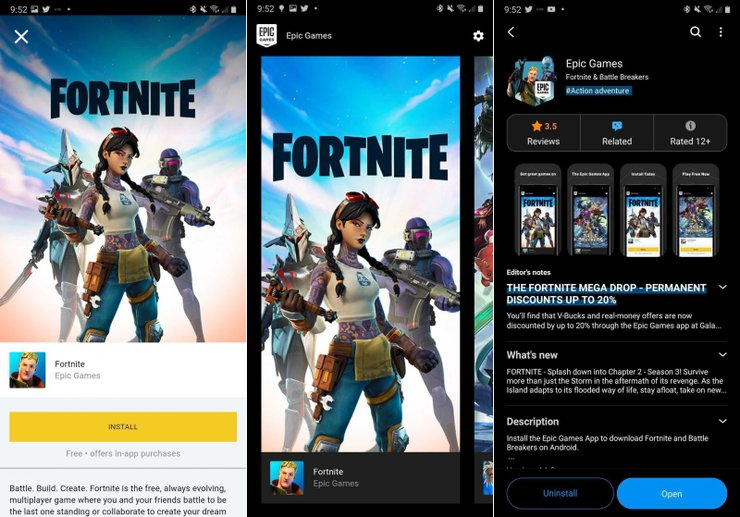 Epic game launcher