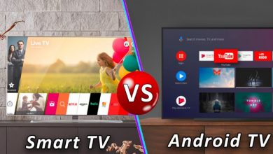 Difference between a smart TV and Android TV