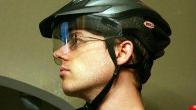 DIY Bike Helmet Visor